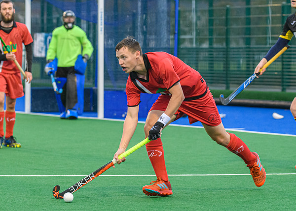 2 November 2019 at Old Anniesland, Glasgow. Scottish Hockey Men's Premiership match - Hillhead v Dundee Wanderers