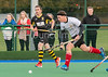 19 October 2019 at the High School of Glasgow, Old Anniesland. Scottish Hockey Men's Premiership match - Hillhead v Uddingston