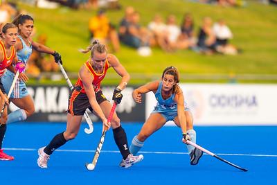 Perth FIH Pro League Australia vs Argentina Picture: WORLDSPORTPICS COPYRIGHT GORDON PETTIGREW