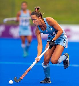 Perth FIH Pro League Australia vs Argentina Picture: TOCCALINO Sofia of Argentina WORLDSPORTPICS COPYRIGHT GORDON PETTIGREW