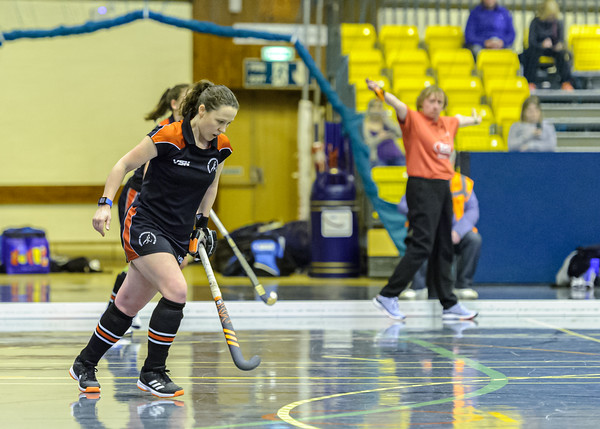 9 February 2020 at Bells Sports Centre, Perth. Scottish Hockey Indoor Gala Finals.<br /> Women's Grand Final - Dundee Wanderers v Clydesdale Western