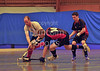 The Play Off Finals of the Scottish indoor season, played at Bells Sports Centre, Perth on 9 February 2013.<br /> Grove Menzieshill v Dundee Wanderers