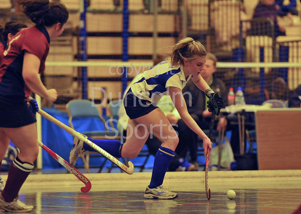 The finals of the Scottish under 18 competition played at Bells Sports Centre, Perth on 9 February 2013.
