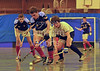 The finals of the Scottish under 18 competition played at Bells Sports Centre, Perth on 9 February 2013.<br /> Grange v Clydesdale