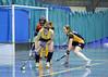Scottish Hockey Indoor League Grand Finals & Gala Day. Bells Sports Centre, Perth. 08.02.2014.<br /> Relegation Play-Off - Waverley Inveresk Trinity v Hillhead Ladies