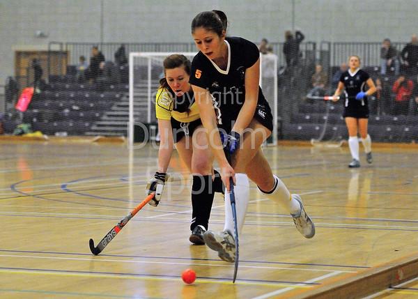Scottish Division 1 Indoor Hockey at The Peak, Forthbank, Stirling on 5 January 2014. CALA Edinburgh v Kelburne
