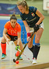 19 February 2016 at Dundee International Sports Complex. Eurohockey Indoor Club Champions Trophy. Game 1, Iris Hockey Lambersart v  HAHK Mladost