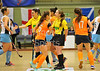 21 February 2016 at Dundee International Sports Complex. Eurohockey Indoor Club Champions Trophy. Game 17, Ards Ladies HC v Highway HC