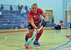 13 December 2015, The Peak, Forthbank, Stirling.<br /> Women's Division 1 Indoor Hockey.<br /> Western Wildcats v Grove Menzieshill