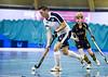 4 February 2017 at Bells Sports Centre, Perth. Scottish Hockey Indoor Gala Finals.<br /> Regional Final - Grove Menzieshill 3s v Hillhead 2s