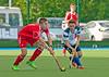20 June 2015, National Hockey Centre, Glasgow Green.<br /> Scotland Under 21 Men v England