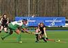 8 April 2015 at  National Hockey Centre, Glasgow Green<br /> Under 18 Hockey - Ireland v Wales