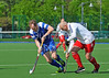 21 May 2016 at the National Hockey Centre, Glasgow Green, Scotland.<br /> Home Nations Masters Tournament - Over 40s<br /> Scotland v Wales