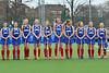 25 March 2016 at the National Hockey Centre, Glasgow Green. Scotland Under 16 Girls v Ireland