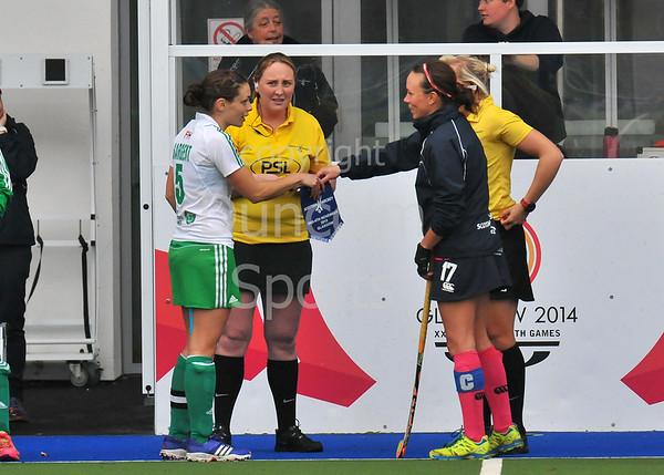 2 November 2015 at the National Hockey Centre, Glasgow Green.<br /> Women's Test Match - Scotland v Ireland