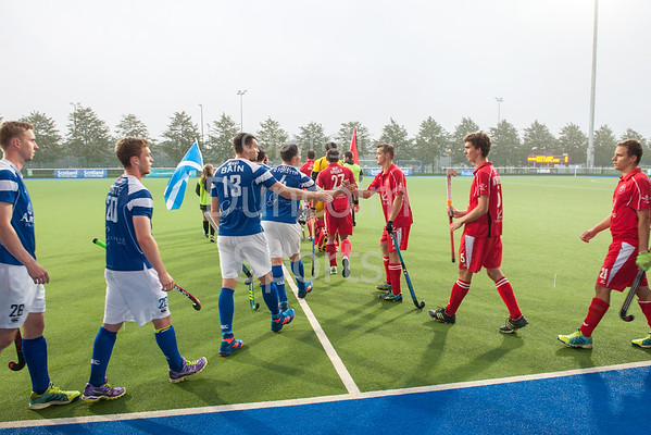 6 September 2016 at the National Hockey Centre, Glasgow Green. <br /> FIH Men's World League 1 match - <br /> Scotland v Switzerland