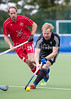 8 September 2016 at the National Hockey Centre, Glasgow Green. <br /> FIH Men's World League 1 match - <br /> Switzerland v Wales