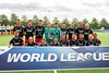 Wales team11 September 2016 at the National Hockey Centre, Glasgow Green. <br /> FIH Men's World League 1 presentations - Wales team