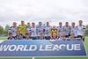 11 September 2016 at the National Hockey Centre, Glasgow Green. <br /> FIH Men's World League 1 presentations<br /> Scotland team