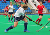 24 June 2016 at Peffermill, Edinburgh<br /> Women's Masters Home Nations Tournament,  Over 40: England v Wales