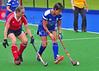 26 June 2016 at Peffermill, Edinburgh<br /> Women's Masters Home Nations Tournament,  Over 60s: England v Scotland