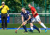 8 July 2017 at the National Hockey Centre, Glasgow Green. Scotland Veterans LX v England LX Red - over 60s