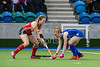 31 March 2018 at the National Hockey Centre, Glasgow Green. Scotland Under 18 Girls v Wales