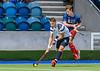 8 July 2018 at the National Hockey Centre, Glasgow Green. Men's international series, Scotland v USA, Game 1