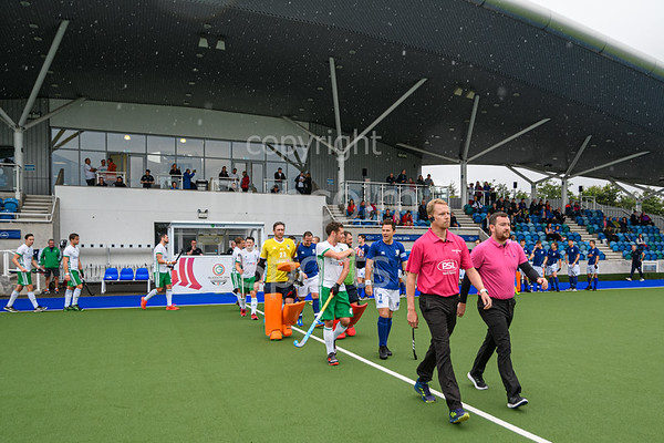 27 July 2019 at the National Hockey Centre, Glasgow Green. <br /> Scotland v Ireland
