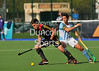 26 April 2014. Four Nations Hockey Tournament At the National Hockey Centre, Glasgow Green.<br /> <br /> Argentina v Belgium
