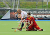 26 April 2014. Four Nations Hockey Tournament At the National Hockey Centre, Glasgow Green.<br /> <br /> England v Belgium