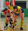 v Sweden. EuroHockey Junior Indoor Championships 2011. Under 21 competition held at The Peak, Stirling, 21-23 Jan 2011