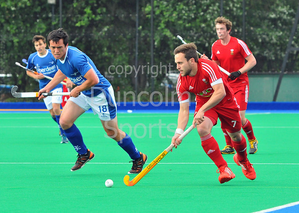 Scotland v Wales.<br /> <br /> Peffermill, 15 June 2013