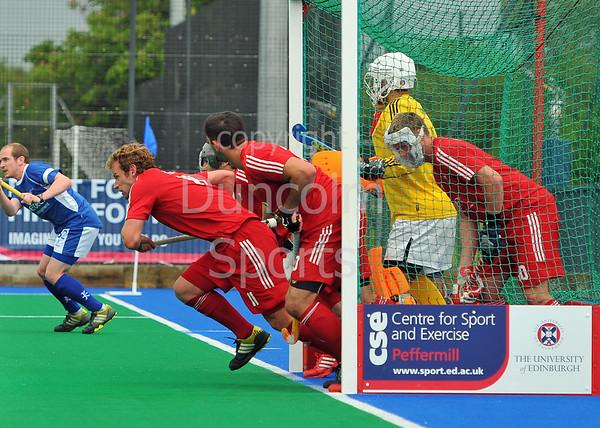 Scotland v Wales.<br /> <br /> Peffermill, 15 June 2013