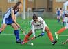 Scotland under 21 Women v India. Titwood on 10 May 2013