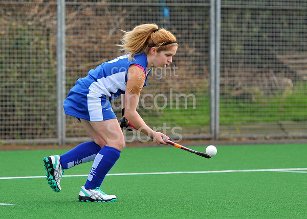 Scotland under 18 Women v India. Titwood on 10 May 2013