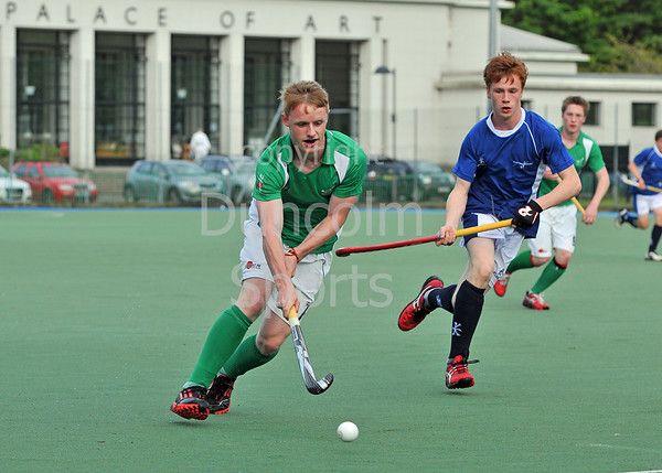Scotland u18 Men v Ireland. Bellahouston, 21 June 2013