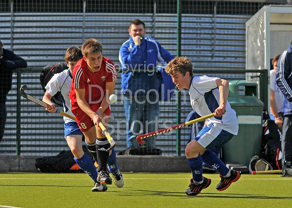 Scotland under 18s v Wales,<br /> 5/6 April 2013, Forthbank, Stirling