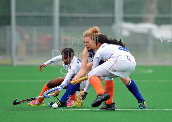 Scotland under 21 v India. Titwood, Glasgow on 5 May 2013