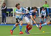 28 April 2014. Four Nations Hockey Tournament At the National Hockey Centre, Glasgow Green.<br /> <br /> Scotland v Argentina