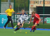 26 April 2014. Four Nations Hockey Tournament At the National Hockey Centre, Glasgow Green.<br /> Scotland v England
