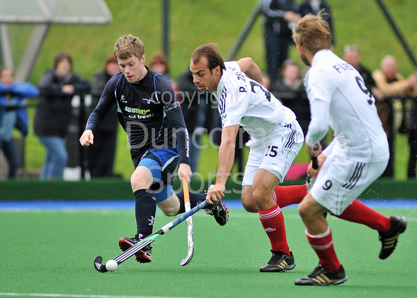 Scotland v Germany. A match from the four nations tournament held at Inverclyde on 11-13 June 2011.