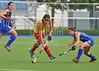 26 June 2014 at the National Hockey Centre, Glasgow Green.<br /> <br /> Scotland v Spain