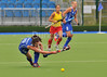 26 June 2014 at the National Hockey Centre, Glasgow Green.<br /> <br /> Scotland v Spain
