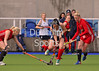Scotland v Wales at the National Hockey Centre, Glasgow Green, on 21 April 2014