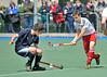 Scotland under 16 boys v England. Match at Bellahouston, Glasgow on 30 May 2011.