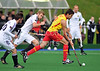Spain v Germany .<br /> A match from the four nations tournament held at Inverclyde on 11-13 June 2011.