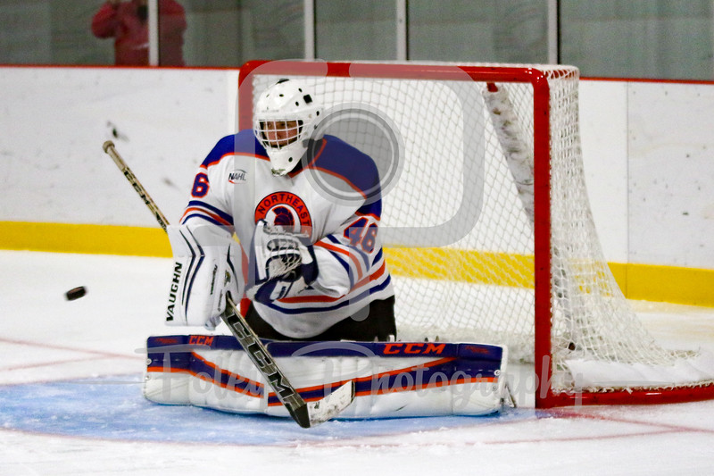 Friday, September 16, 2016; Canton, Massachusetts;  The Aston Rebels defeated the Northeast Generals 4-2 in the 2016-2017 NAHL opener.