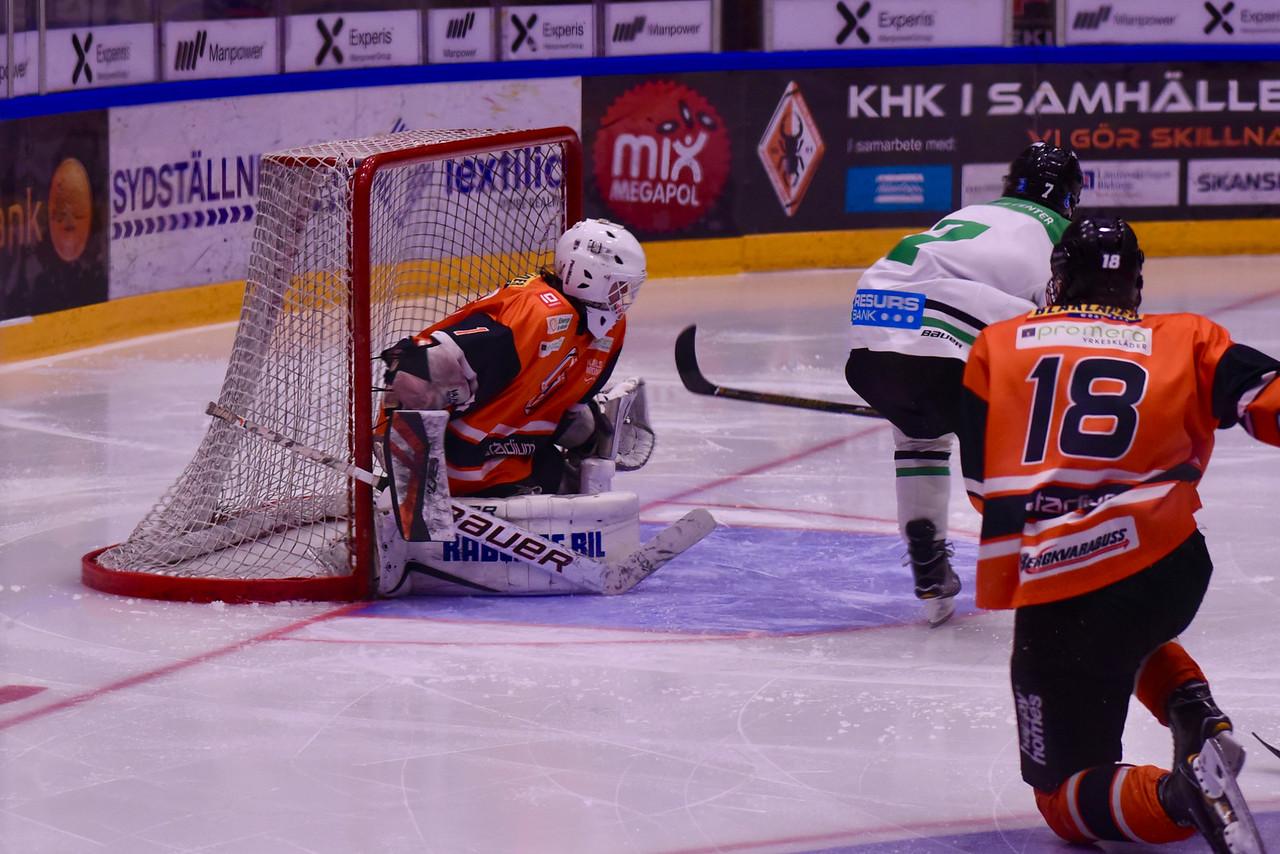 #7 Adam Jernberg gör 2-1 för Rögle