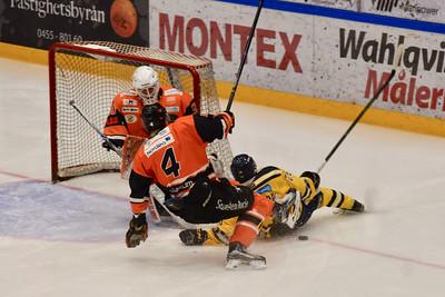 #4. Melker Persson, #30 Viktor Andersson,  #26. Noah Pereira